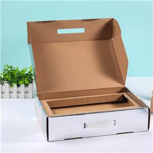 regalo corrugado cartón de leche caja de papel de envasado de alimentos