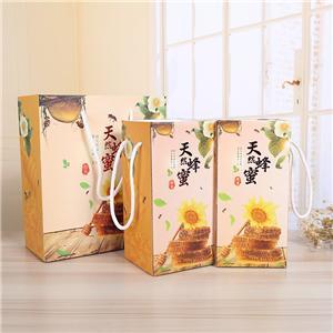 Proveedor de China corrugado regalo cartón de miel embalaje de alimentos caja de papel