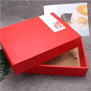 caja de papel de embalaje de cartón de té de regalo corrugado personalizado