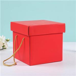 Caja de papel de embalaje de regalo de cartón corrugado