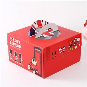 caja de cartón corrugado de papel de embalaje de alimentos de regalo de fábrica de china