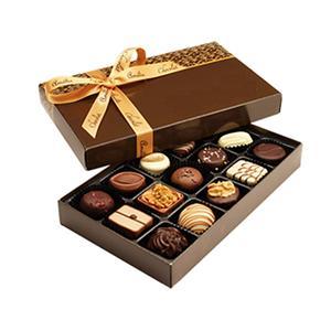 caja de regalo de la ventana de fresa cubierta de chocolate de san valentín al por mayor personalizada de fábrica de china con pvc transparente