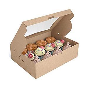 Cajas de Kraft rectangulares pequeñas de calidad alimentaria de fábrica de embalaje OEM