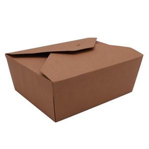 Fábrica de China Kraft embalaje personalizado comida para llevar cajas de papel