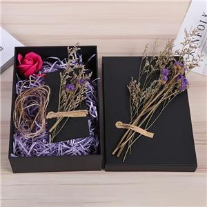 Paper box manufacturer Fresh color printing paper gift box matte laminate gift box packaging