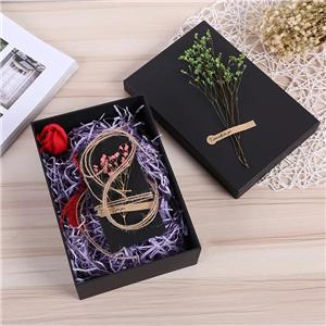 OEM Factory Custom Golden luxury Double Layer cardboard Magnetic Health care product Gift Box