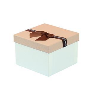 Boîtes d'expédition de carton de cadeau imprimées par coutume d'usine d'OEM avec le ruban