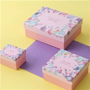 OEM Factory Birthday gift packaging box Holiday gift paper packaging boxes for wholesale