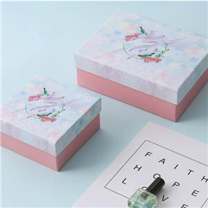 Factory Manufacturer custom printed paper jewelry gift box with lids