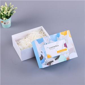 Embalaje de papel planta de lujo San Valentín rígido embalaje de papel caja de regalo en relieve