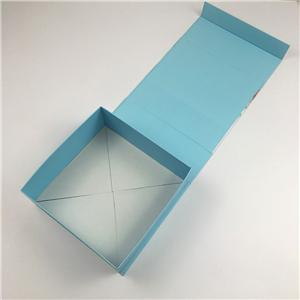Paper Packaging Plant high quality rigid paper folding wallet cardboard gift box