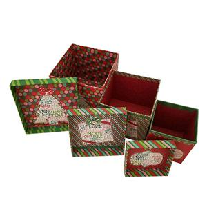 rigid paper boxes for gift christmas gift packaging box large christmas gift boxes