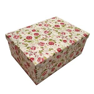 OEM Factory customized logo Red pretty cardboard paper gift box with lid