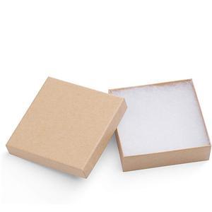 Caja de paquete de papel de regalo de anillo de joyería de tapa dura impresa personalizada de fábrica OEM / ODM