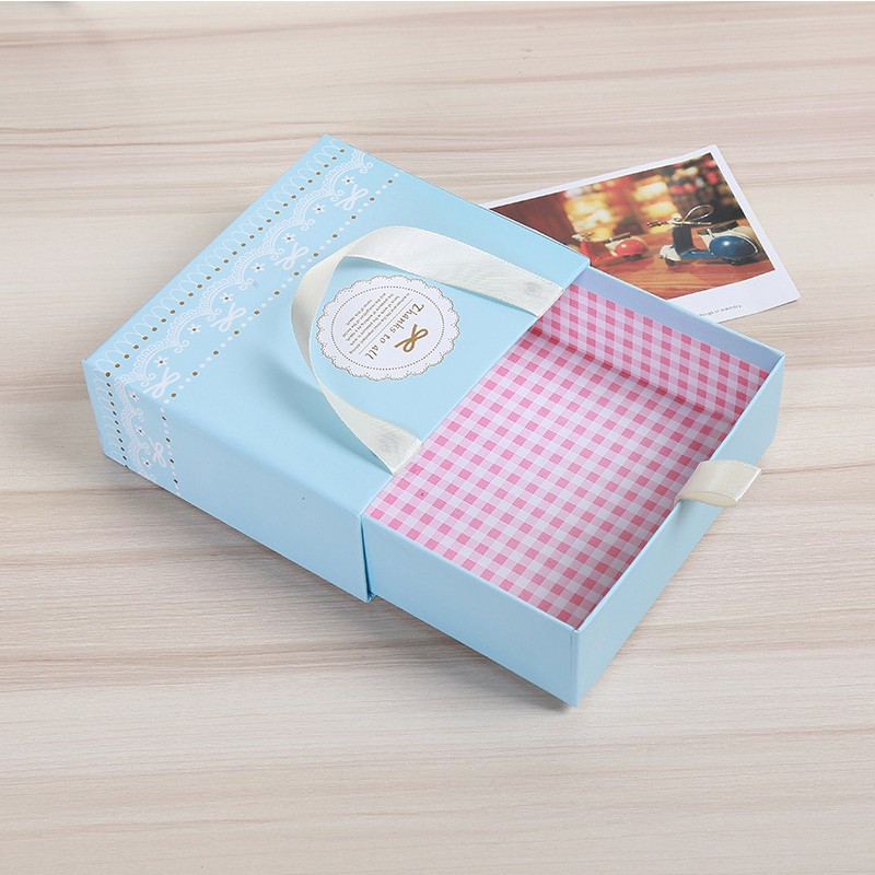 China Factory gift packaging paper box candy packing wedding gift box