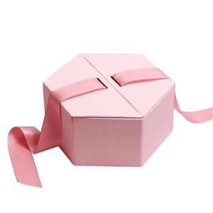 China Factory Hexagon style luxury packaging paper box candy Gift Box
