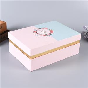luxury packaging paper box wedding Party Gift Cardboard Box
