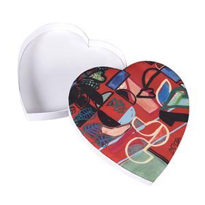 boîte-cadeau de bonbons au chocolat en carton de mariage de luxe personnalisé