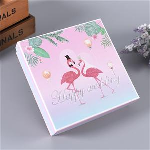 Manufacturer Luxury gift box for wedding candy packaging