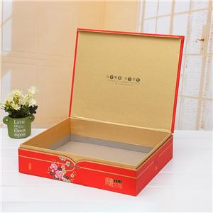Factory Customized Book style gift packaging box with close Book shape paper box nice gift boxes