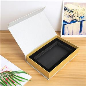 Factory Customized Book style gift packaging box magnetic closure box