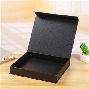 Boîte-cadeau faite sur commande d'emballage d'impression en forme de livre créatif à extrémité élevé