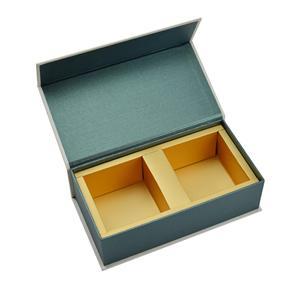 Caja plegable plana de lujo al por mayor de alta calidad de encargo del regalo del cartón de la ropa