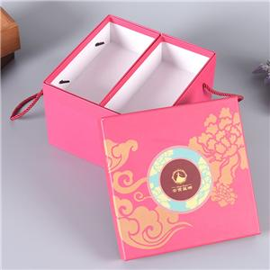 new design factory luxury custom snack gift packaging paper box