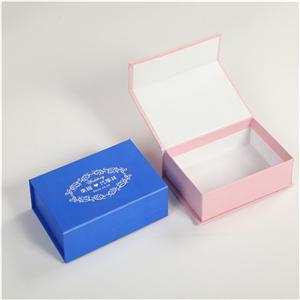 boîte cosmétique se pliante faite sur commande de papier d'emballage de carton de luxe écologique