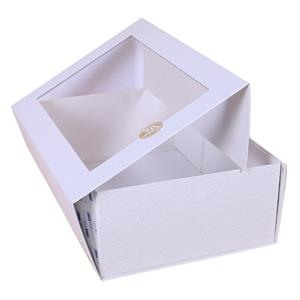 custom eco friendly luxury Folding boxes for gift with window