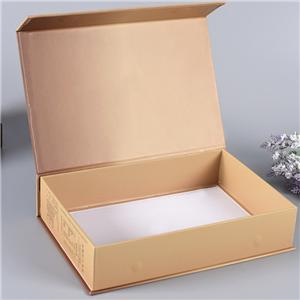 luxury eco friendly Book Shaped cardboard package paper gift flat folding box