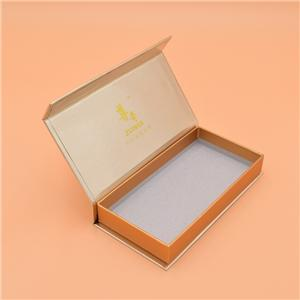China factory custom book shaped luxury cardboard magnetic gift box