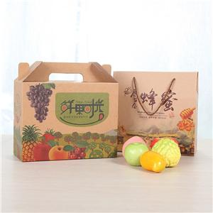 manufacturer kraft paper fruit corrugated packaging box