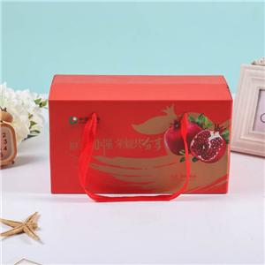 custom China factory kraft paper fruit paperboard fruit box packaging