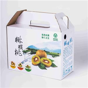 custom China factory paperboard fruit carton box apples