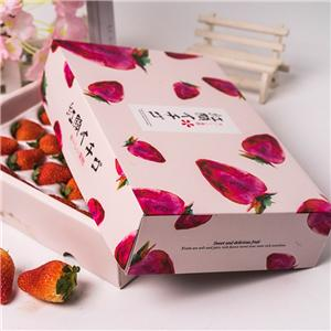Paper Gift Boxes waterproof Packaging Carton fruit packaging for gifts box