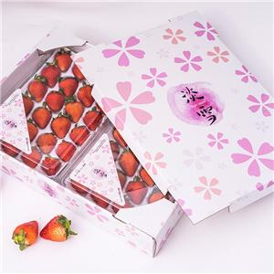 Apple Orange Cherry Paper Gift Boxes Packaging Carton Box For Fruit