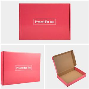 China Factory high quality brown cardboard packaging carton box for sweet ice cream
