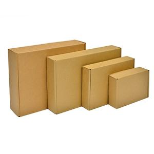 China Factory customized foldable corrugated colorful packaging box