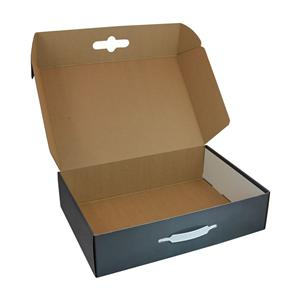 Factory Manufacturer wax corrugated board paper packing box for products