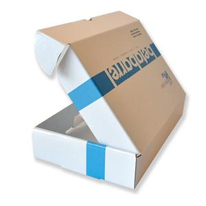 China Factory custom white mail paper packing box