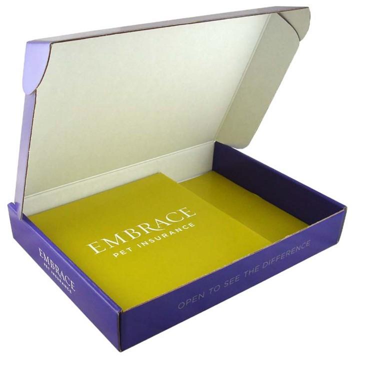 Factory Manufacturer carton corrugated paper packaging postal box