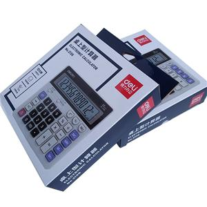 Factory Manufacturer new design printing Calculator corrugated boxes