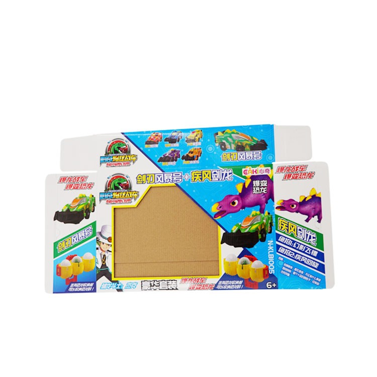 OEM Factory Toy Kids packaging foldable storage custom corrugated cardboard box