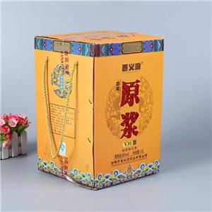 OEM Factory cardboard wine packgaging corrugated box