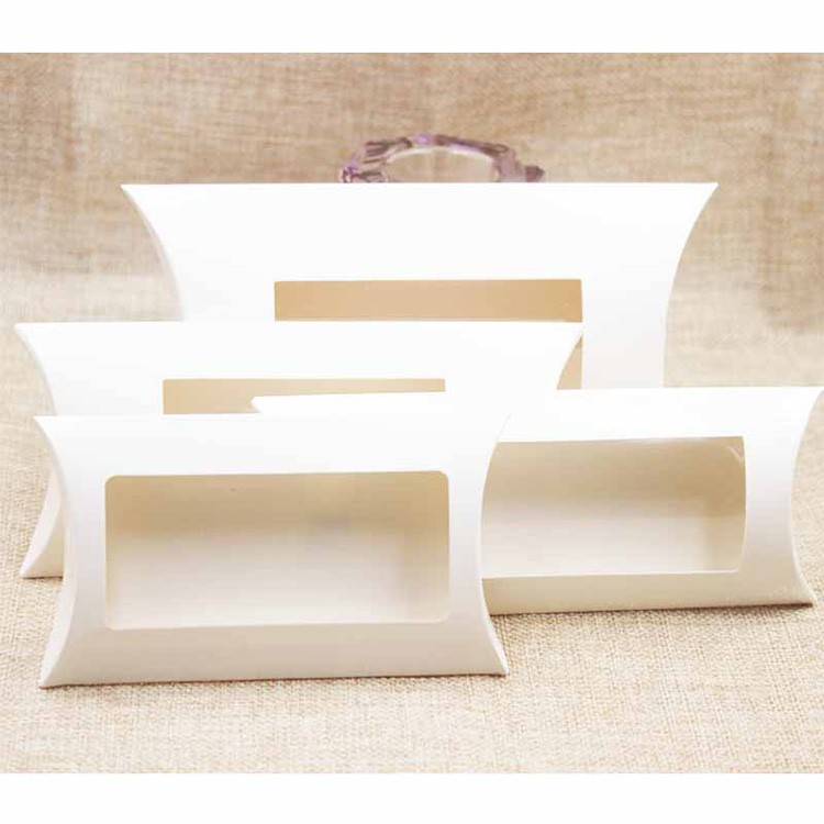 Hot sale high cost-effective craft paper soap box paper pillow box new designs