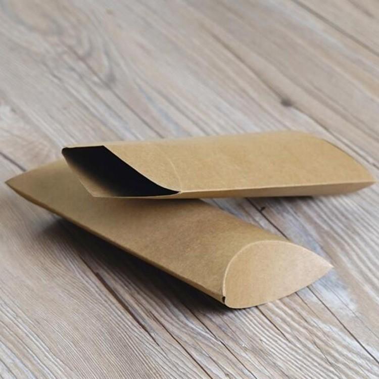 حار بيع براون كرافت ورقة الصابون مربع التعبئة والتغليف