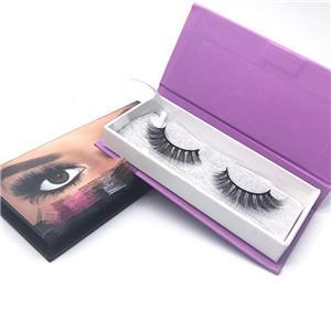 Oem Paper Package Box Factory Eyelash Packaging Box Custom Design Printed