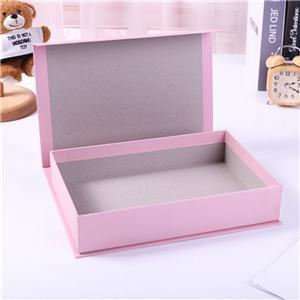 custom pink cosmetic packaging cardboard box