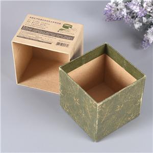China Factory Custom cmyk printing cosmetic face cream box